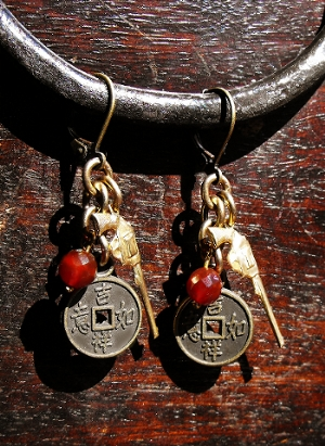 Browncoat Earrings